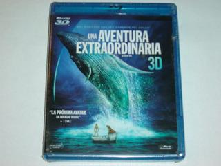 Blu Ray Life Of Pi / Una Historia Extraordinaria 3d Original