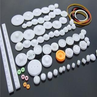 Kit De 75 Engranajes Plasticos Poleas Piñones Arduino