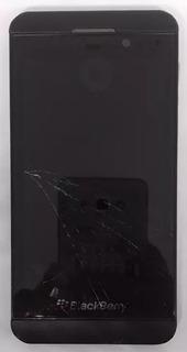 6° Blackberry Z10 Preto Com Defeito Sem Garantia