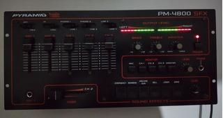Mixer Pyramid Studio Pro - Pm 4800 Sfx