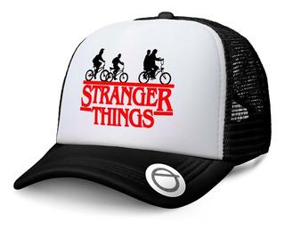 Gorra Trucker Dustin Stranger Things Tv Serie Netflix
