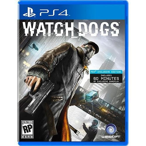 Watch Dogs - Ps4 - Mídia Física - Pt Br