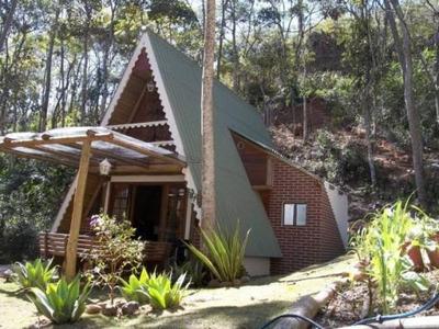 Casa Em Bonsucesso, Petrópolis/rj De 80m² 1 Quartos À Venda Por R$ 300.000,00 - Ca15673