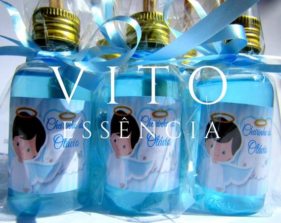 50 Mini Difusores Lembrancinhas Batizado