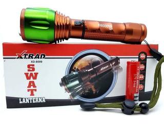Lanterna Tatica Potente Led Q5 Cree 68000w Xd8099