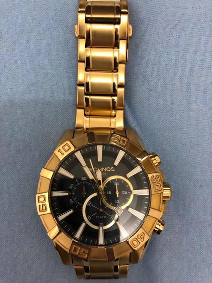 Relógio Technos Dourado Duas Pulseiras Os2aaj Usado