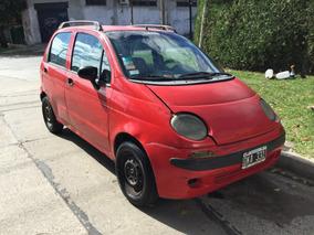 Daewoo Matiz 2001 Rojo 5 Puertas Al Dia Motor Nuevo Ituzaing