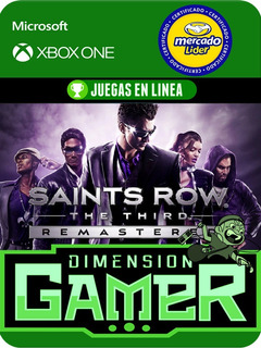 Saints Row The Third Remastered - Xbox One Modo Local