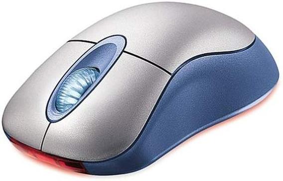 Mouse Microsoft Blue Wireless Inalambrico Nuevo