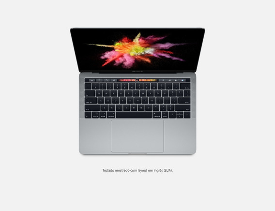 Macbook Pro 2017 Touchbar Tela De Retina Ssd 1tb 16gb Ram
