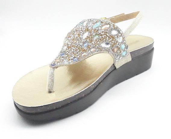 Sandalias Dama Huarache Calzado Zapato Casual Chancla Mo2314