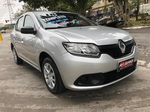 Renault Logan 2018 Completo 1.0 Flex 39.000 Km Muito Novo
