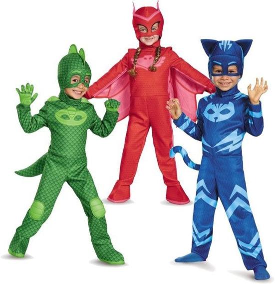 Pj Masks Disfraz Owlette Orig Int 24603-2 Heroes En Pijamas