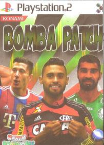 Patch Bomba 2015 - Brasileirão 2015 - Novo - P/ Ps2