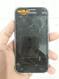 Samsung J1 Sm-j100m - Com Bateria - Funcionando - Defeito