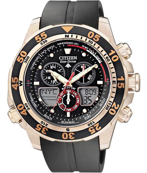Relógio Citizen Masculino Eco-drive Jr4046-03e/tz10002u