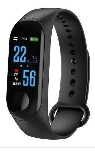 Reloj Inteligente Smart Band M3 Pulsera Inteligente Sensor