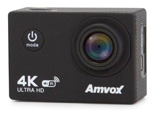 Câmera Digital Amvox Adc 840k 4k Tela 2  Lcd Prova D'água