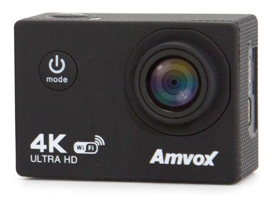 Câmera Digital Amvox Adc 840k 4k Tela 2 Lcd Prova D