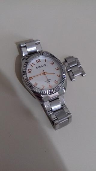 Relógio Analógico Seculus Feminino