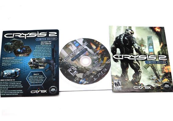 Jogo Playstation 3 Ps3 Crysis 2 Midia Fisica Sem Capa A5596