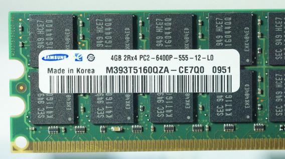Memória Servidor 2rx4 Pc2-6400p 555-12 800mhz Samsung