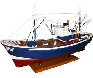 Barco Pesca Pesqueiro Carmen G - Madeira - Veleiro Traineira