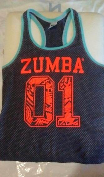 Musculosa Zumba Wear Original Nueva Talle S