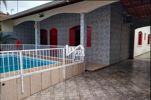 Casa Com Piscina Em Itanhaém, Lado Praia Ca234-f