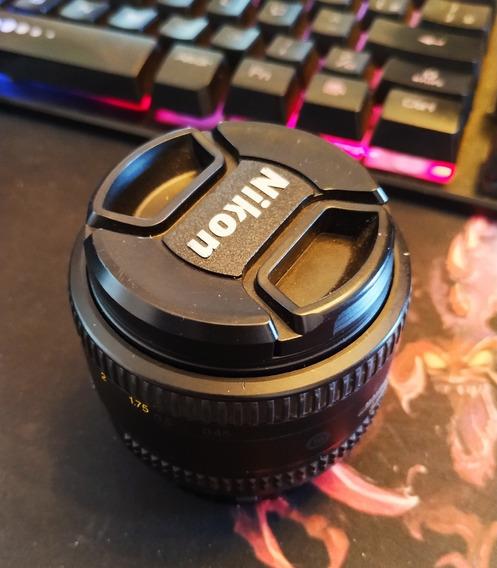 Lente Nikon 50mm 1.8 D
