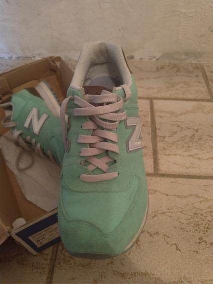 New Balance 574 Novo - Verde Bebe