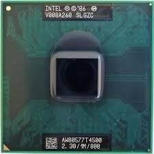Processador Notebook Intel Dual Core T4500 1m 2.30ghz Slgz