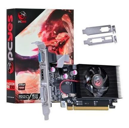 Placa De Video Pci Exp. 2gb Pcyes Radeon R5 230 Pa230r56402d3lp