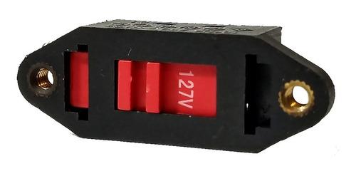 Imagem 1 de 7 de Chave Seletora De Tensão Voltagem 110v 220v Ar Direto