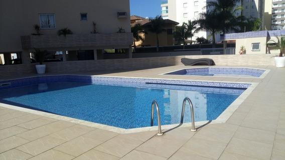 Cobertura No Com Ampla Varanda Vista Mar- Jardim Aruã - 275