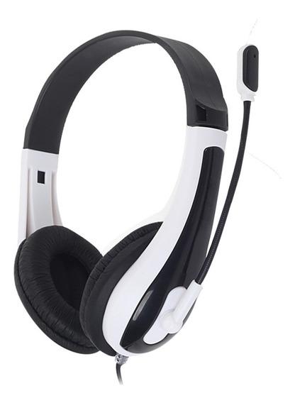 Fone De Ouvido Headset Com Microfone Hit Preto Oex Newlink