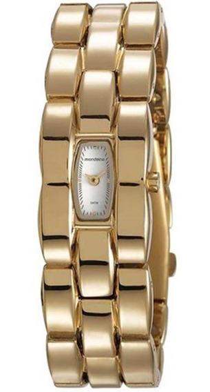 Relógio Feminino Mondaine 53623lpmvdm1 Dourado