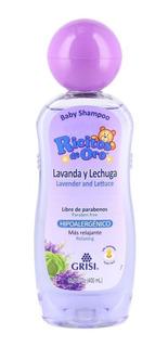 Shampoo Ricitos De Oro Lavanda Lechuga Grisi 400 Ml