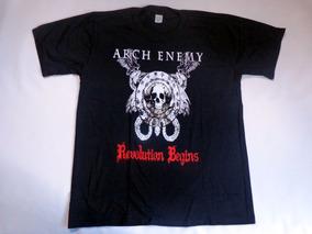 Camiseta Camisa Bandas De Rock Metal - Arch Enemy