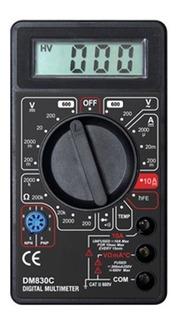 Multimetro Digital Con Temperatura Tester Stronger Dm830c