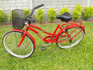 Vendo Bicicleta Soria Ladys Impecable Rodado 24