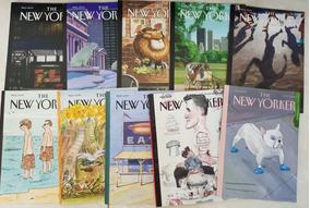 Lote 3 Revistas The New Yorker 2012/3/4 - 10 Revistas