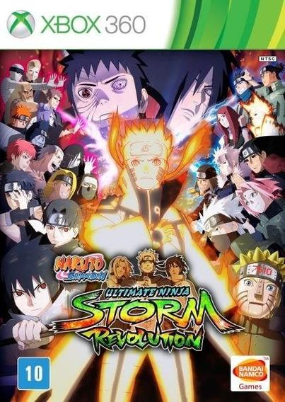Naruto Storm Revolution Xbox 360 Midia Digital Envio Imediat