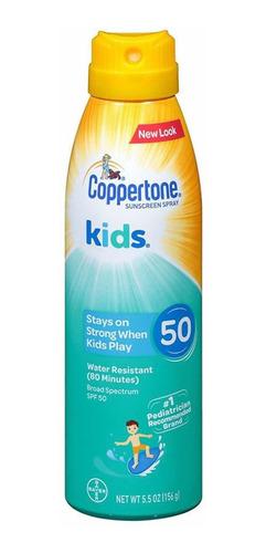 Imagem 1 de 1 de Coppertone Kids Spray 156g