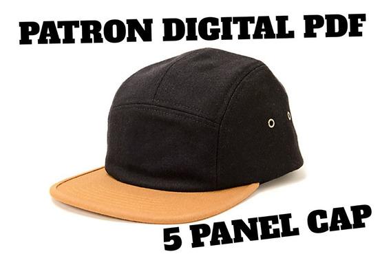 Molde Patron Gorra 5 Panel - Pattern