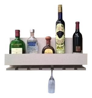 Cava Repisa Porta Botellas Vinos Mini Bar Cantina Cairo Lino