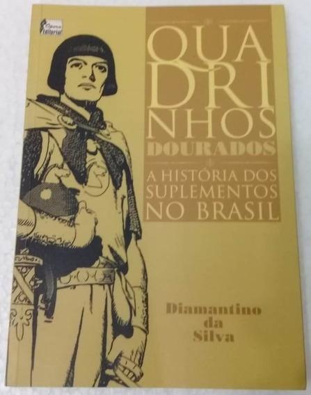 Diamantino Da Silva - Quadrinhos Dourados - Autografado