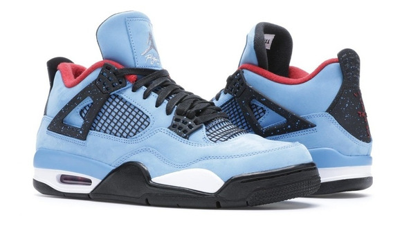 Zapatillas Air Jordan 4 Retro - Travis Scott Cactus Jack 9.5