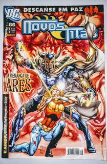 Hq - Novos Titãs Nº 66 - A Herança Ares