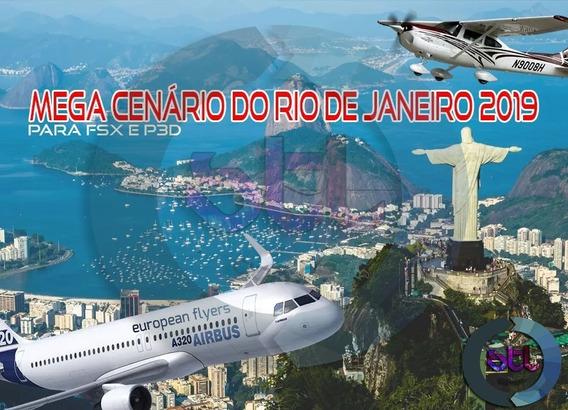 Fsx E Prepar3d Mega Cenário Rio De Janeiro